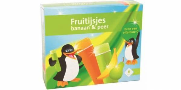 Fruitijsjes Banaan/Peer