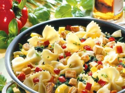 Toscaanse noodle pan