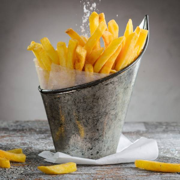Pom friet excellent