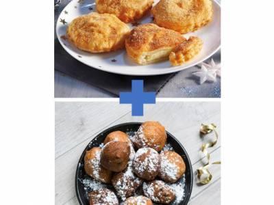 Appelbeignets en oliebollen