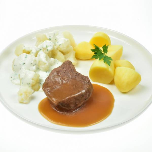 Rundvlees met bloemkool